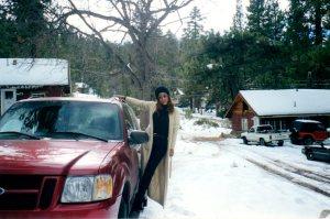 Me. Big Bear. Circa 1990s.
